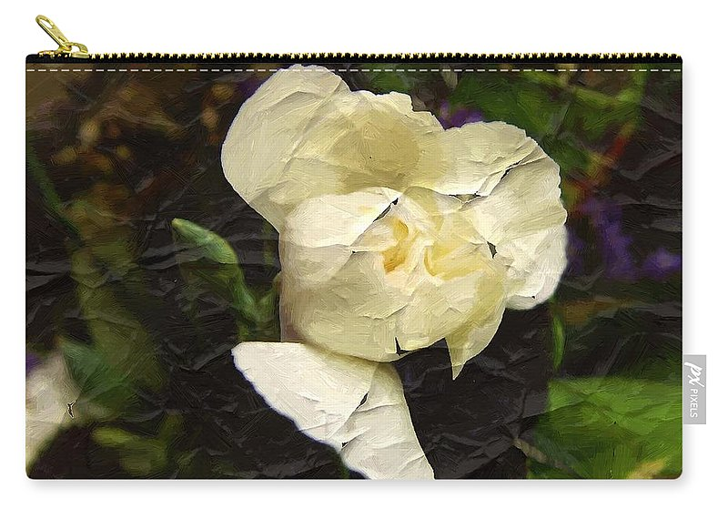 Ged Carry-all Pouch featuring the digital art Age Cannot Wither by RC DeWinter