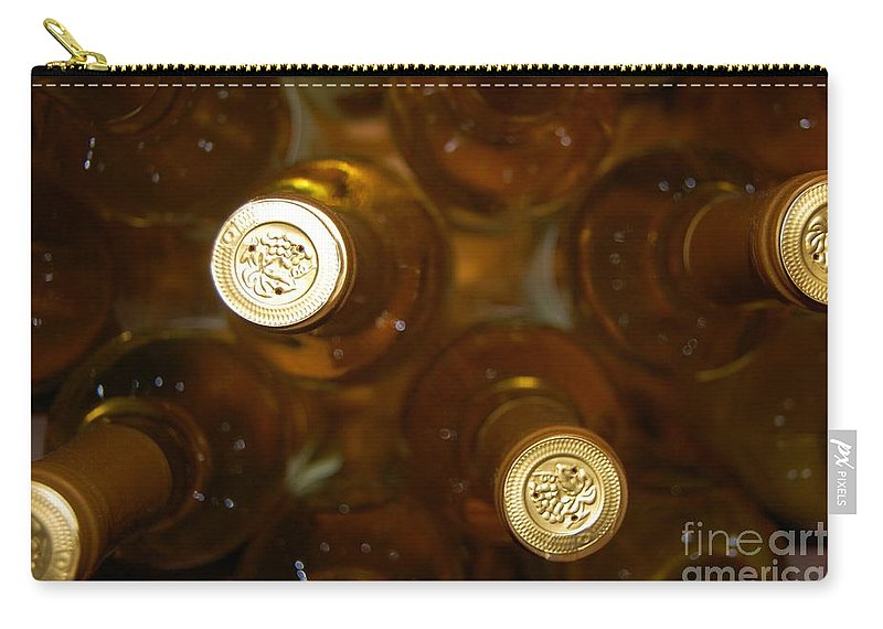 Wine Carry-all Pouch featuring the photograph Aged Well by Debbi Granruth