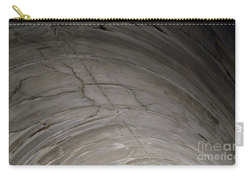 Concrete Carry-all Pouch featuring the photograph Aging Aggregate by Richard Rizzo