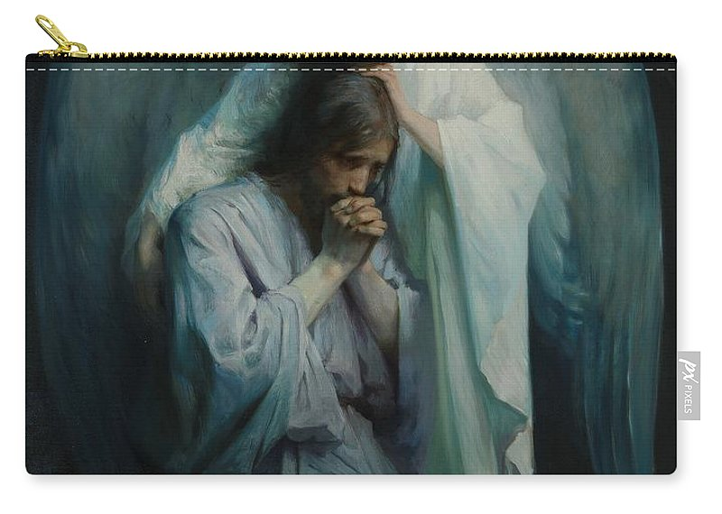 Agony In The Garden Carry All Pouch For Sale By Frans Schwartz