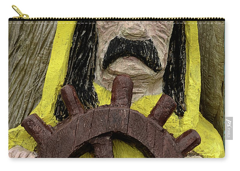 Fun Carry-all Pouch featuring the photograph Ahoy Mate by Bob Christopher