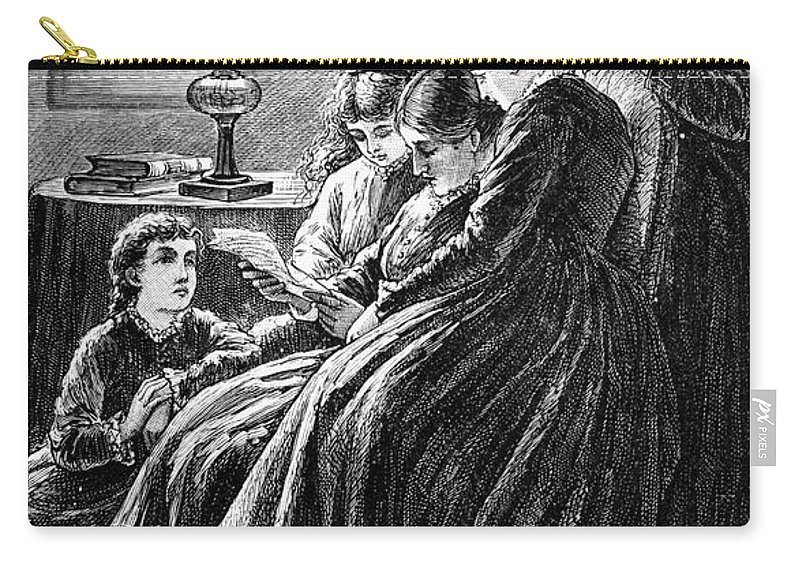 19th Century Carry-all Pouch featuring the photograph Alcott: Little Women by Granger