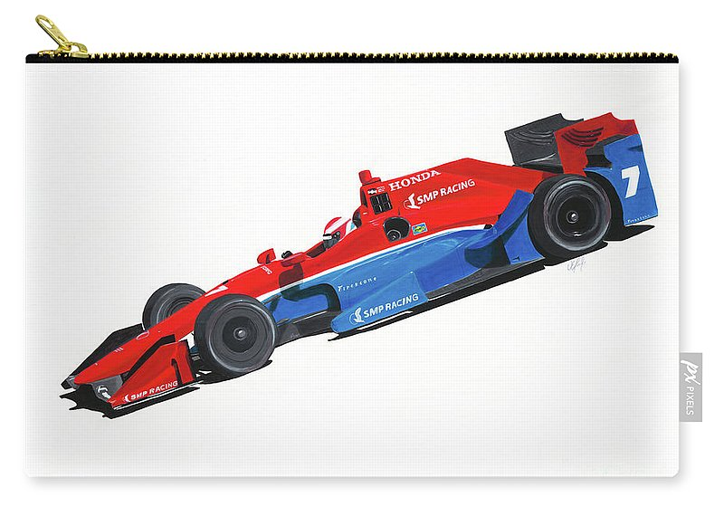 Mikhail Aleshin Carry-all Pouch featuring the painting Aleshin's 7 by William Homeier