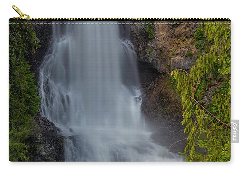Alexander Falls Carry-all Pouch featuring the photograph Alexander Falls by Jacqui Boonstra