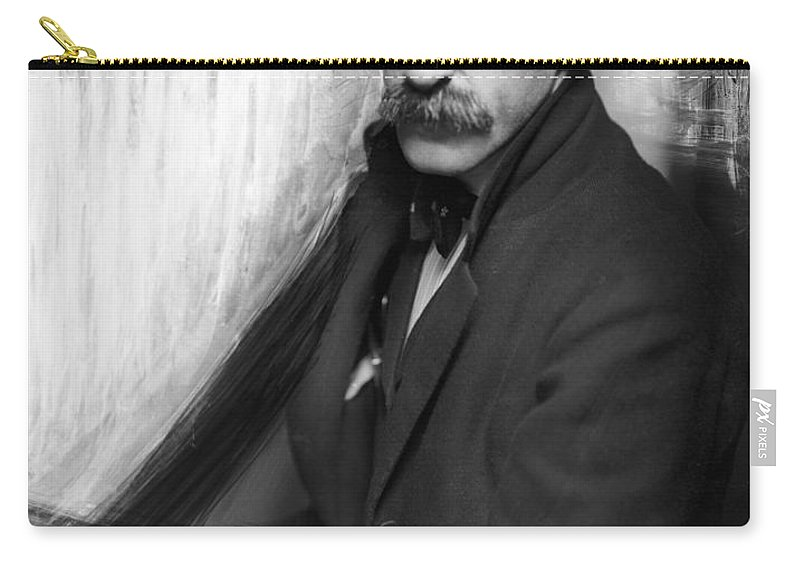 1902 Carry-all Pouch featuring the photograph Alfred Stieglitz (1864-1946) by Granger