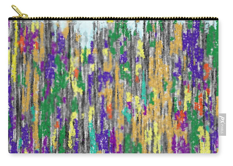 Abstract Carry-all Pouch featuring the digital art Algoma In Autmn by Ian MacDonald