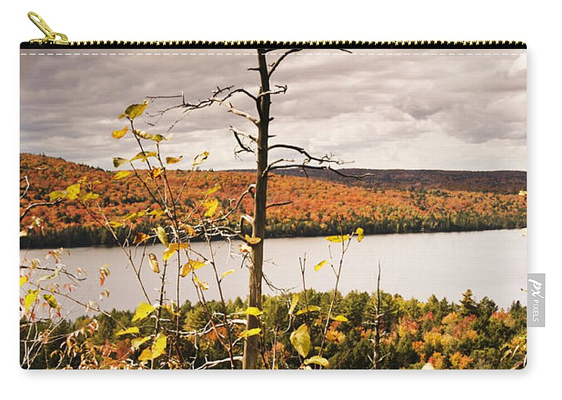 Autumn Carry-all Pouch featuring the photograph Algonquin Autumn by Phill Doherty