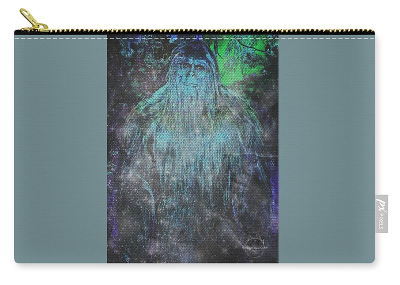 Alien Bigfoot Carry All Pouch