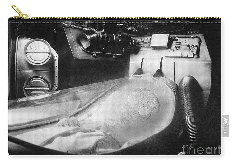 20th Century Carry-all Pouch featuring the photograph Alien Photograph by Granger