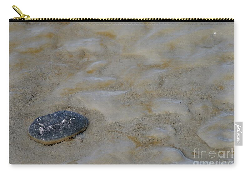 Beach Carry-all Pouch featuring the photograph All Alone by Rick Monyahan