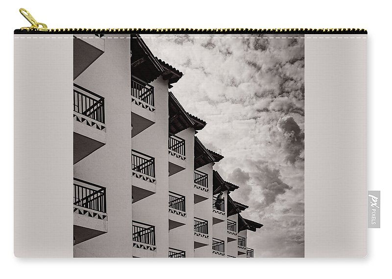 Jalisco Carry-all Pouch featuring the photograph All Decked Out by Paul LeSage