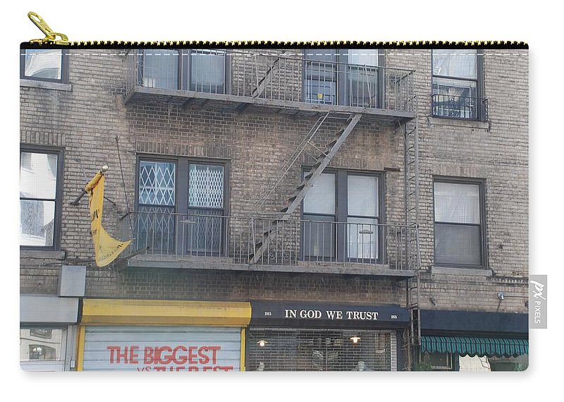 New York City Carry-all Pouch featuring the photograph All Others Pay Cash by Rob Hans