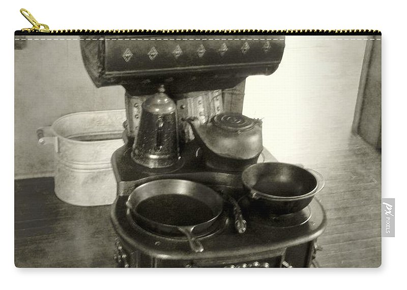 Antiques Carry-all Pouch featuring the photograph All The Modern Conveniences by RC DeWinter