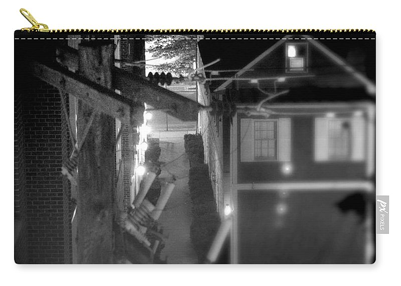 Alley Carry-all Pouch featuring the photograph Alley To High by Jean Macaluso