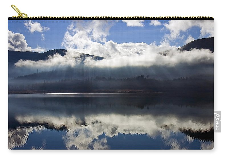 Heavenly Light Carry-all Pouch featuring the photograph Almost Heaven by Mike Dawson