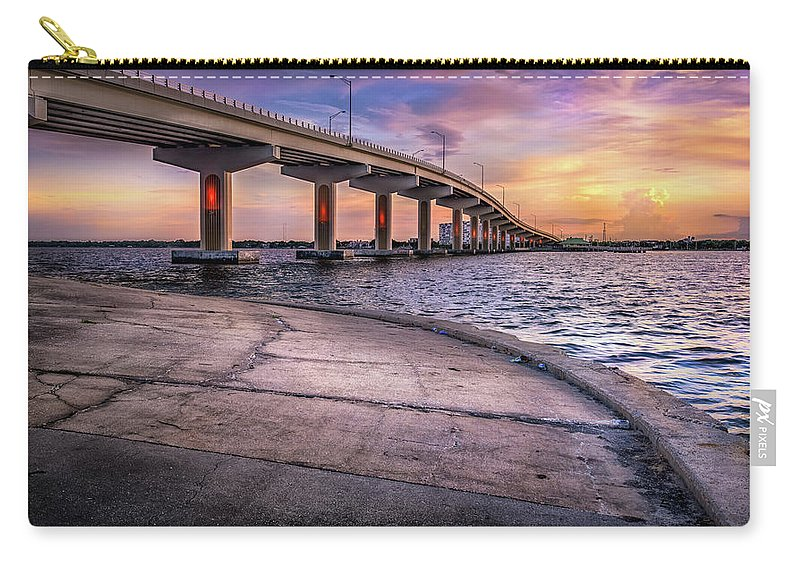 Florida Carry-all Pouch featuring the photograph Almost Perfect by Louise Hill