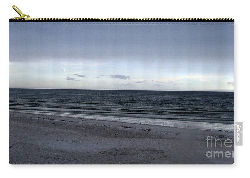 St Petersburg Florida Carry-all Pouch featuring the photograph Almost Sunset by Amanda Barcon