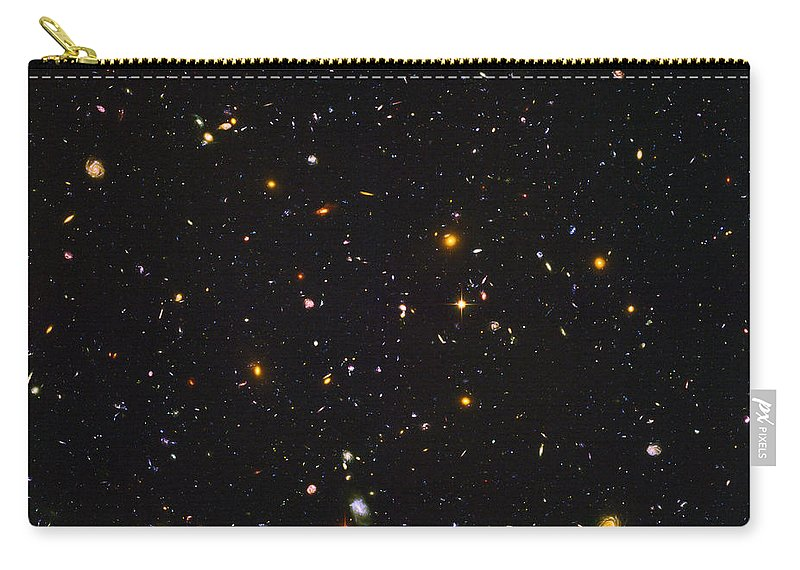 Space Carry-all Pouch featuring the photograph Almost Ten Thousand Galaxies As Seen By Hubble by Carl Deaville