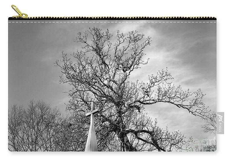 Alone Carry-all Pouch featuring the photograph Alone by Amanda Barcon
