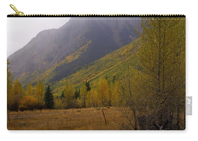 Colorado Carry-all Pouch featuring the photograph Along The Alpine Loop by Marty Koch