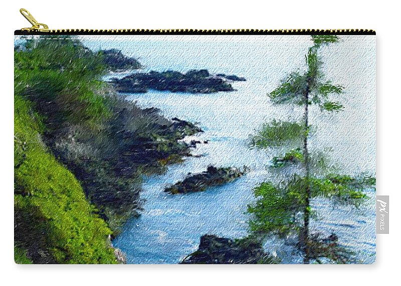 Digital Photograph Carry-all Pouch featuring the photograph Along The West Coast 1 by David Lane