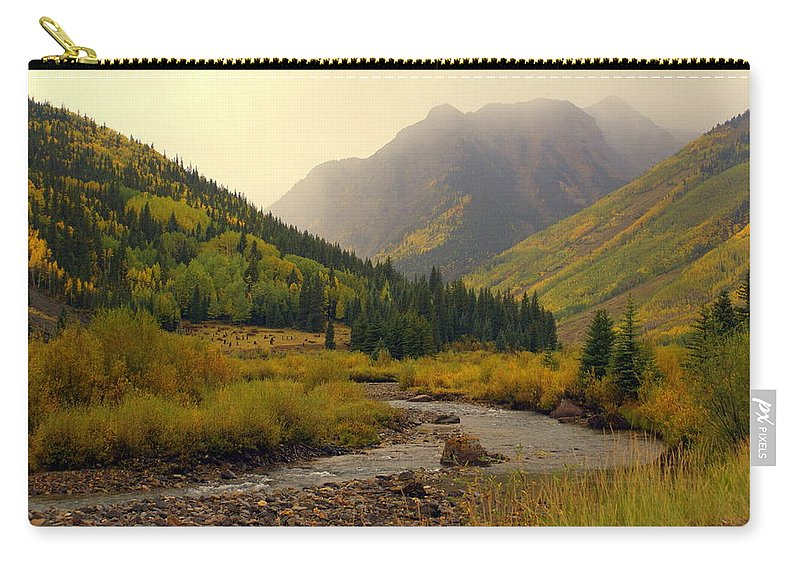 Colorado Carry-all Pouch featuring the photograph Alpine Loop Fall by Marty Koch