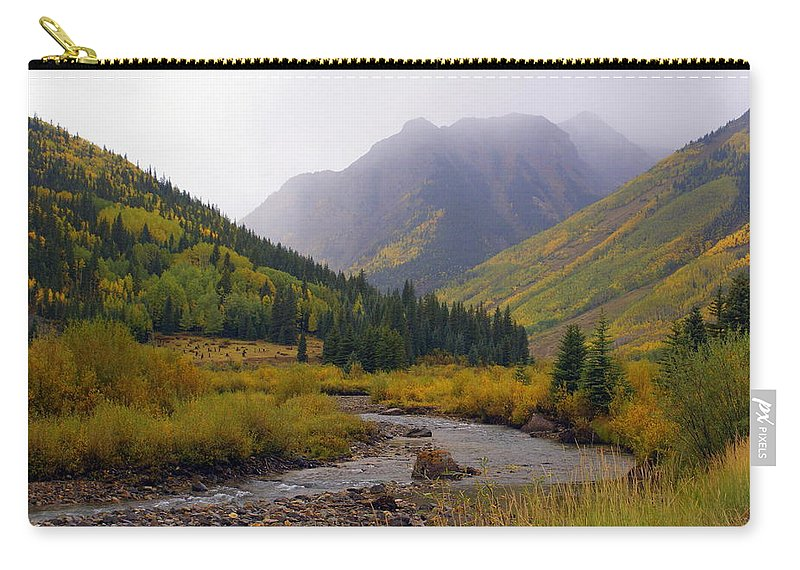 Colorado Carry-all Pouch featuring the photograph Alpine Loop Road by Marty Koch