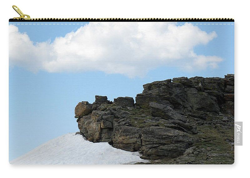Rocky Mountains Carry-all Pouch featuring the photograph Alpine Tundra - Up In The Clouds by Amanda Barcon