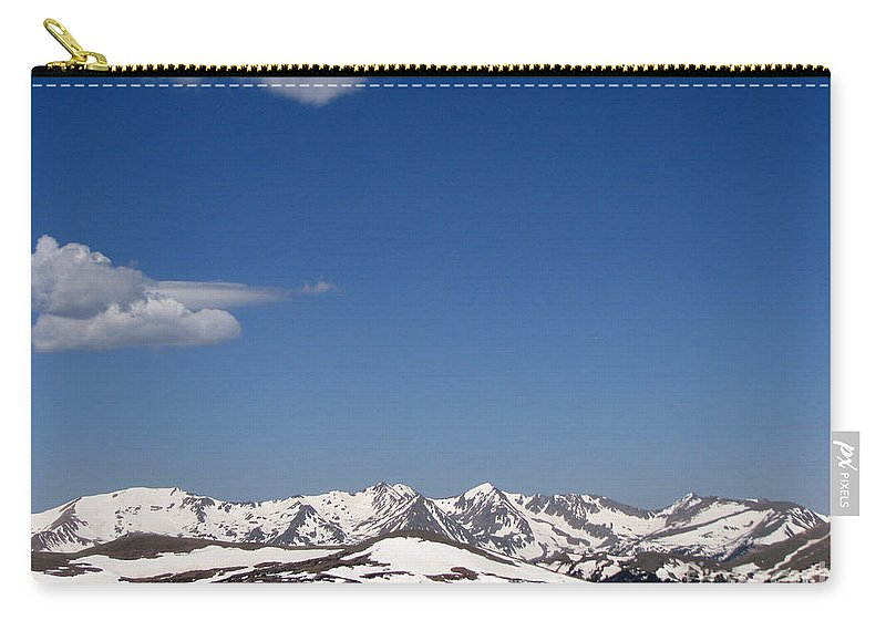 Mountains Carry-all Pouch featuring the photograph Alpine Tundra Series by Amanda Barcon