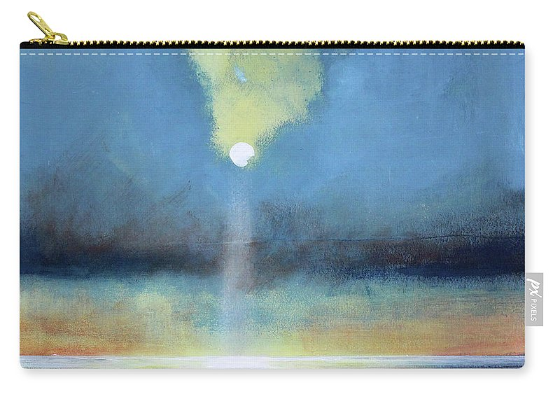 Moon Carry-all Pouch featuring the painting Always Hopeful by Toni Grote