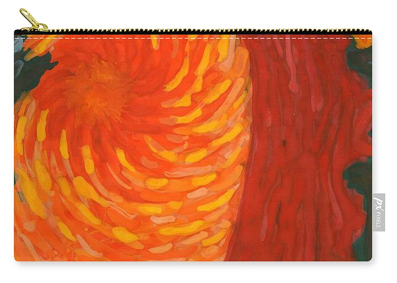 Colour Carry-all Pouch featuring the painting Always Near You by Wojtek Kowalski