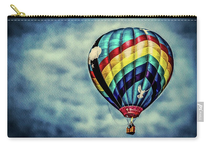 Amazing Grace Carry-all Pouch featuring the photograph Amazing Grace by Bob Orsillo
