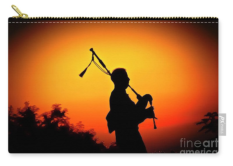 Sunset Carry-all Pouch featuring the photograph Amazing Grace by Jim Cazel