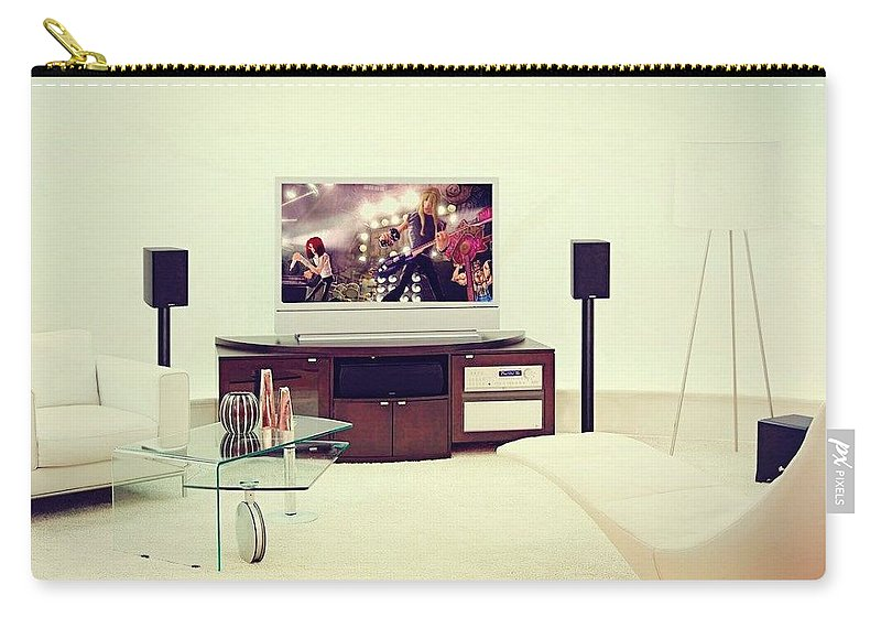 Home Theater Systems Chicago Carry-all Pouch featuring the photograph Amazing Home Theaters Systems by James Lynnn