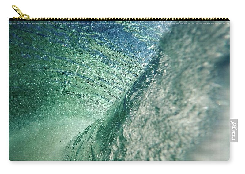 Waves Carry-all Pouch featuring the photograph Amazing Wave by Sebastian Musial
