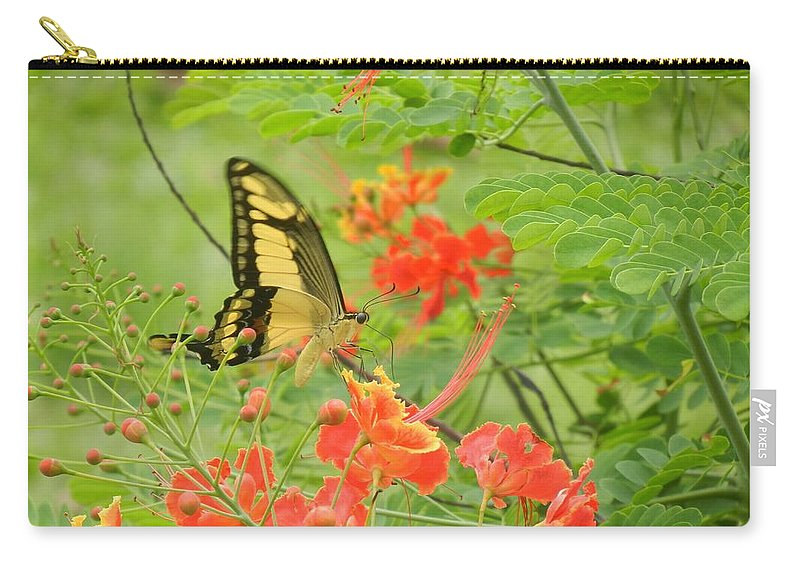 Butterfly Carry-all Pouch featuring the photograph Amazonia Butterfly by Rhonda Allbrandt