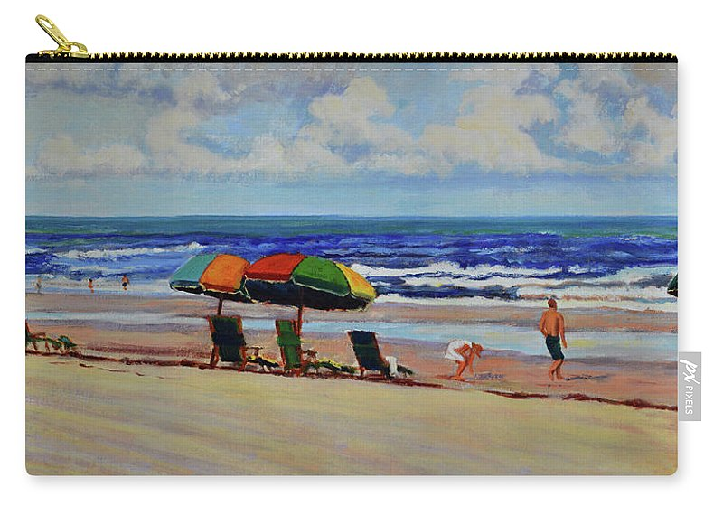 Impressionism Carry-all Pouch featuring the painting Amelia Afternoon by Keith Burgess
