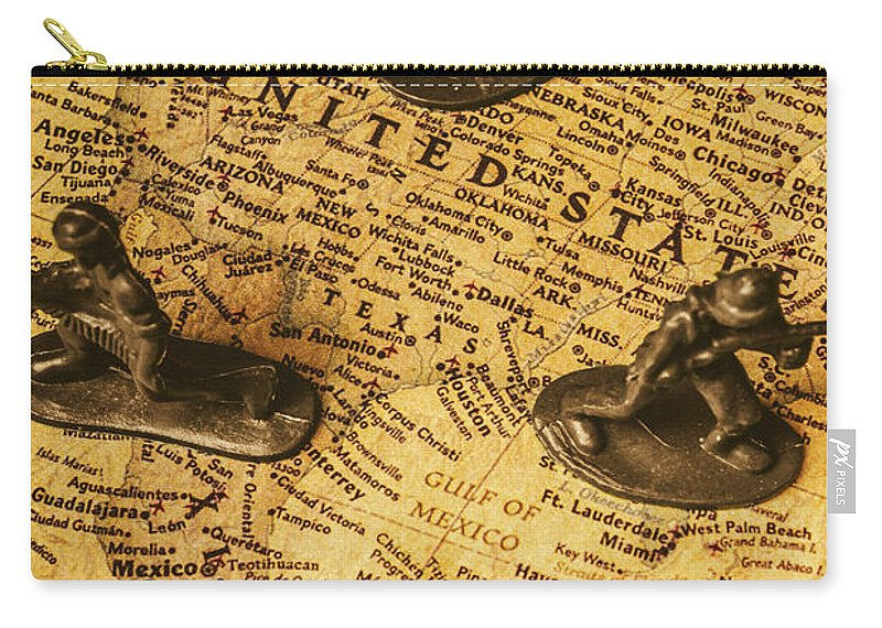 United States Carry-all Pouch featuring the photograph American Army by Jorgo Photography - Wall Art Gallery