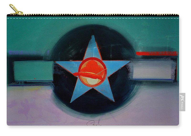 Star Carry-all Pouch featuring the painting American Landscape by Charles Stuart