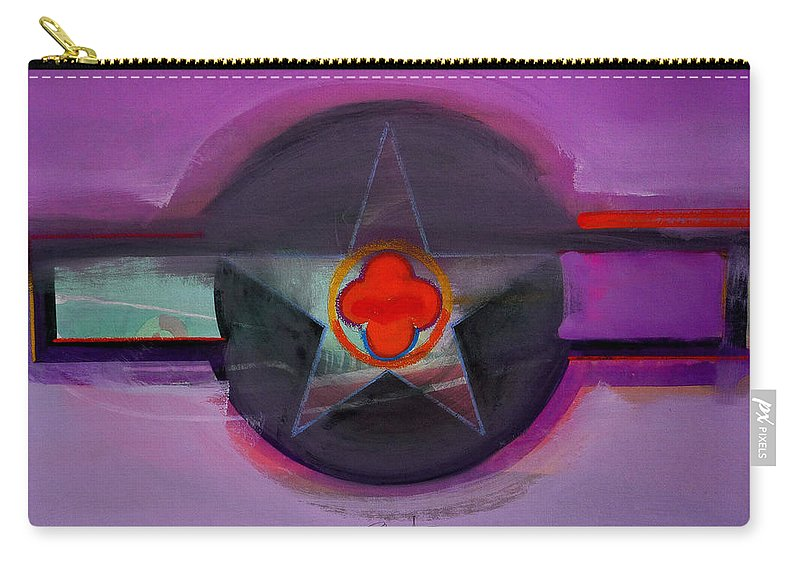 Star Carry-all Pouch featuring the painting American Lilac by Charles Stuart