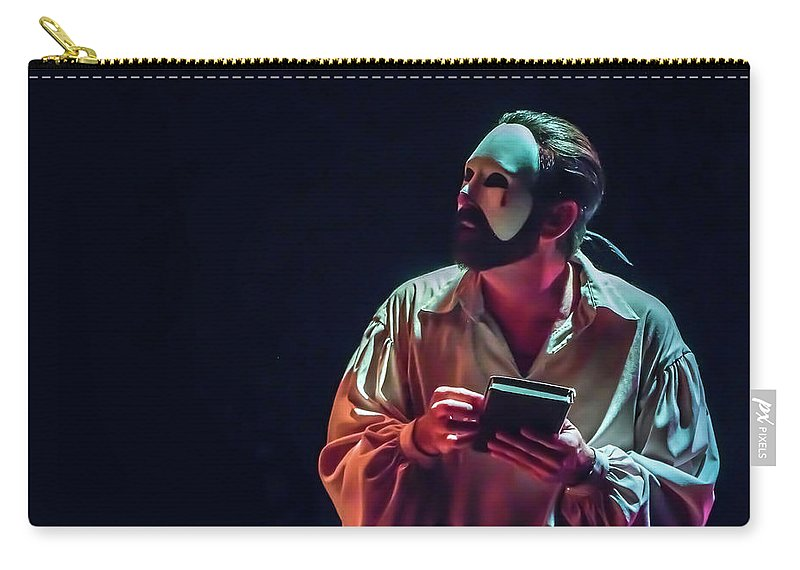 Live Theater Carry-all Pouch featuring the photograph American Phantom by Alan D Smith
