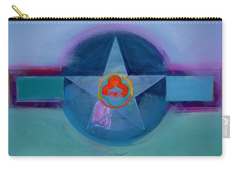 Star Carry-all Pouch featuring the painting American Spiritual by Charles Stuart