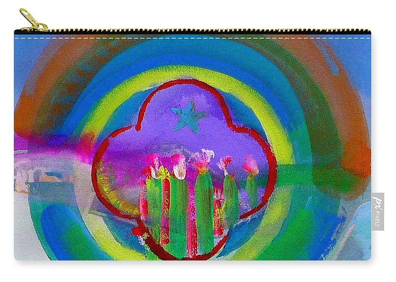 Love Carry-all Pouch featuring the painting American Spring by Charles Stuart