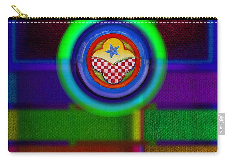 Ame-mua Carry-all Pouch featuring the painting Amerikamura Twilight by Charles Stuart