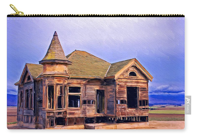 Old Home Carry-all Pouch featuring the painting Amnesia by Dominic Piperata