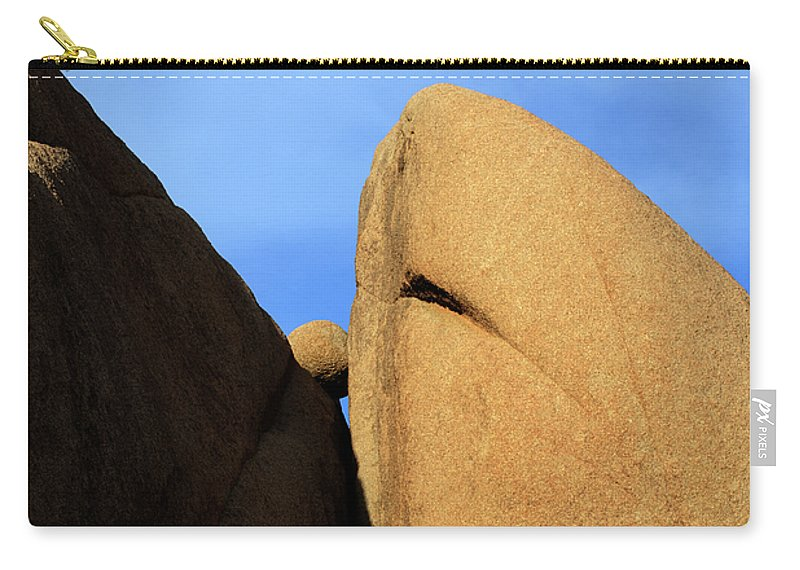 Joshua Tree National Park Carry-all Pouch featuring the photograph Amongst Giants by Bob Christopher
