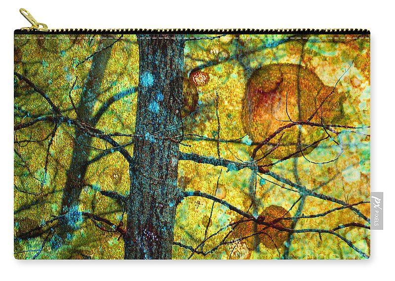 Texture Carry-all Pouch featuring the photograph Amongst The Branches by Tara Turner