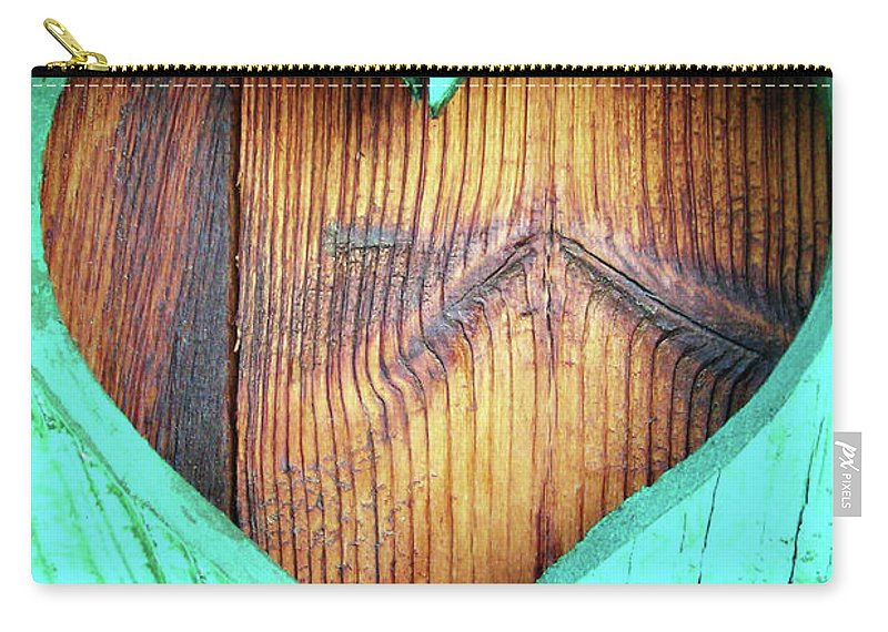 Heart Carry-all Pouch featuring the photograph Amor ... by Juergen Weiss