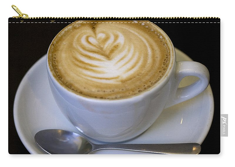 Coffee Carry-all Pouch featuring the photograph Amore Poster by Tim Nyberg