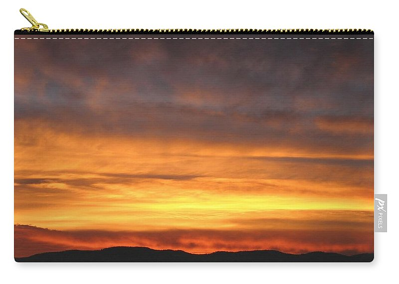 Sky Carry-all Pouch featuring the photograph An Astounding Sky by Will Borden